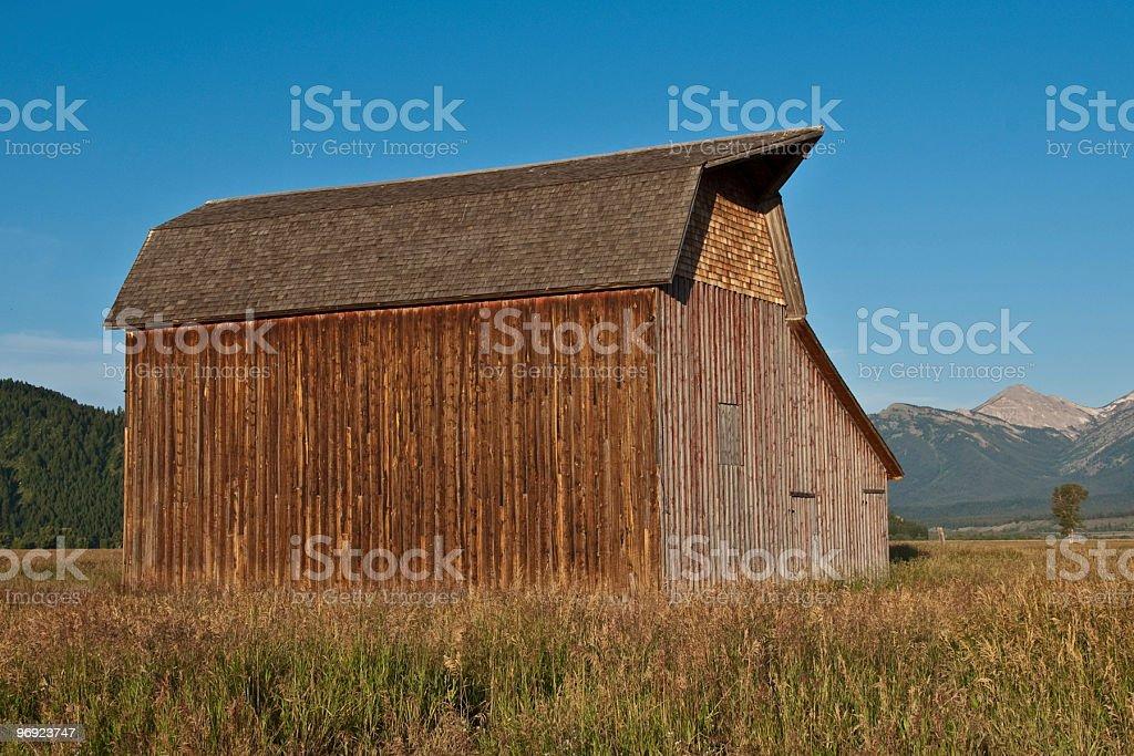 Thomas Murphy Barn royalty-free stock photo