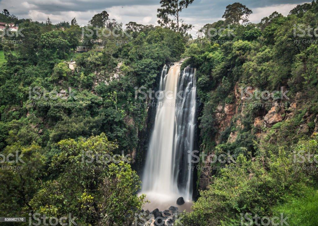 Thomson Falls stock photo