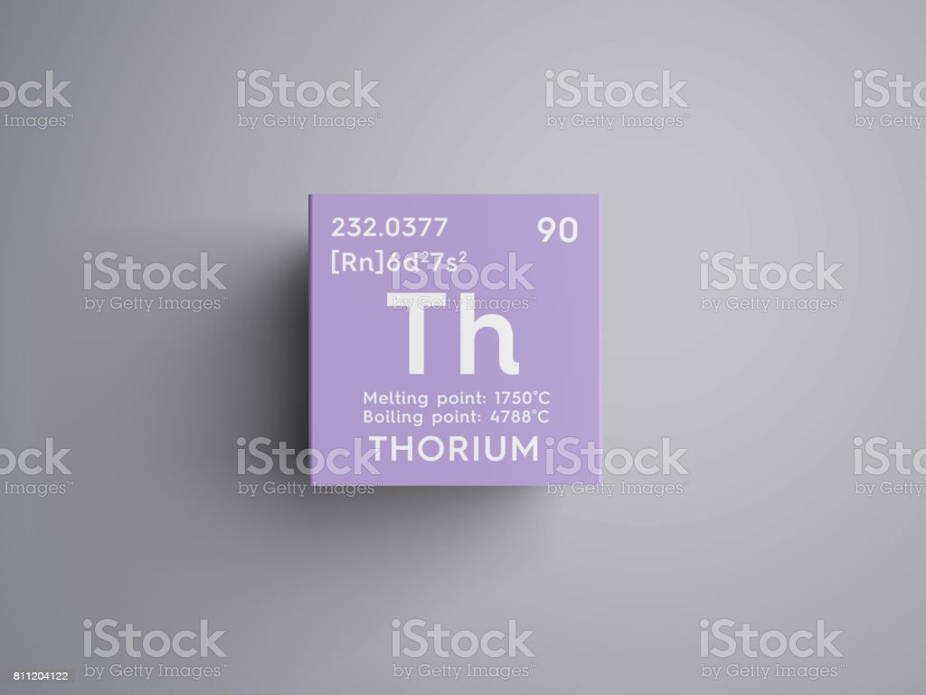 Thorium actinoids chemical element of mendeleevs periodic table chemical element of mendeleevs periodic table royalty free stock photo gamestrikefo Images
