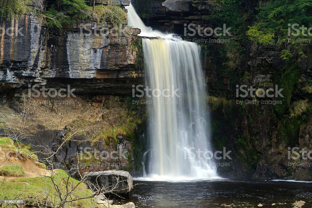 Thornton Force Waterfall royalty-free stock photo
