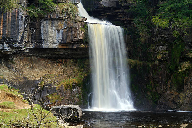 Thornton Force Waterfall stock photo