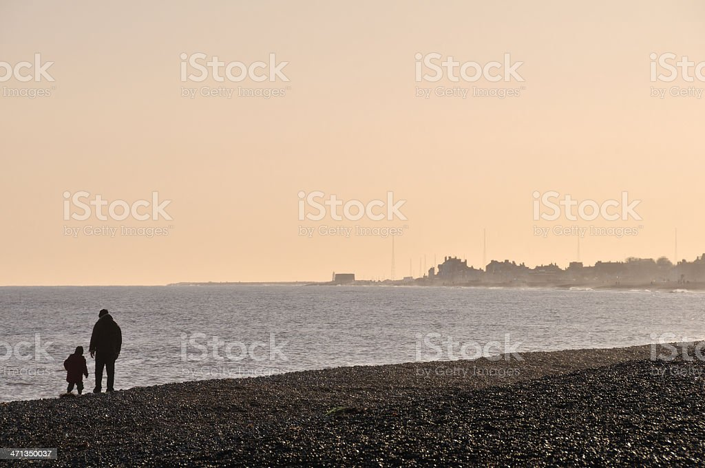 Thorpeness beach. royalty-free stock photo