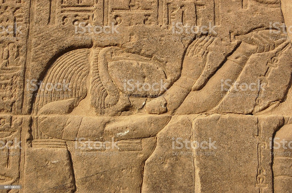 Thoth portrait royalty-free stock photo