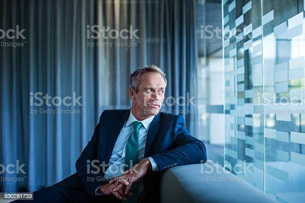 Thoughtful businessman sitting in office lobby picture id530281733?b=1&k=6&m=530281733&s=612x612&h=mrg47hkramup4dkrinifgdlxvfdgsdthno66kcqtsqo=
