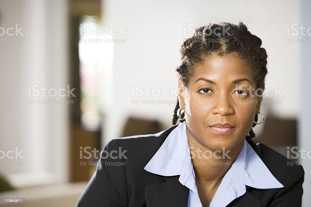 Thoughtful Businesswomen royalty-free stock photo