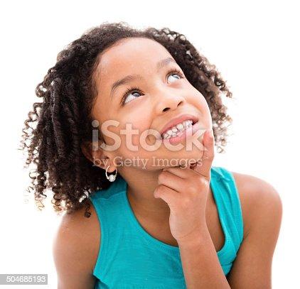 istock Thoughtful girl 504685193
