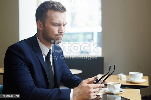 istock Thoughtful man 823931978