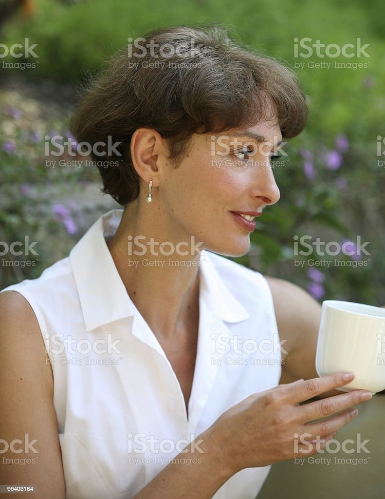 Thoughtful woman - Royalty-free Adult Stock Photo