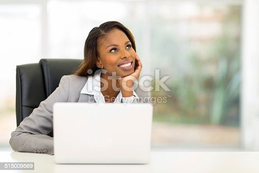 istock thoughtful young african businesswoman 515009569