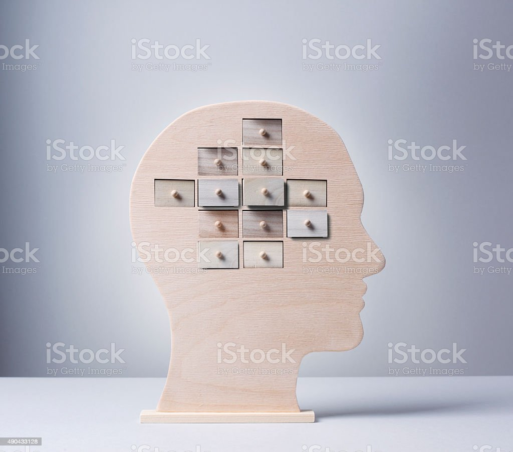 Thoughts and Memories stock photo