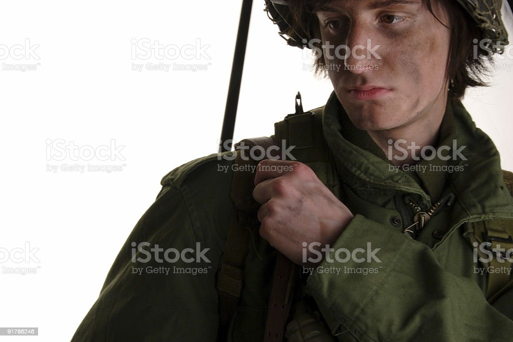 thoughts of war royalty-free stock photo