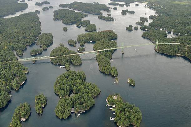 Tausend Islands-Brücke – Luftaufnahme – Foto