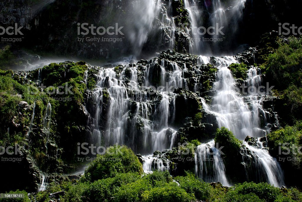 Thousand Springs Waterfalls royalty-free stock photo