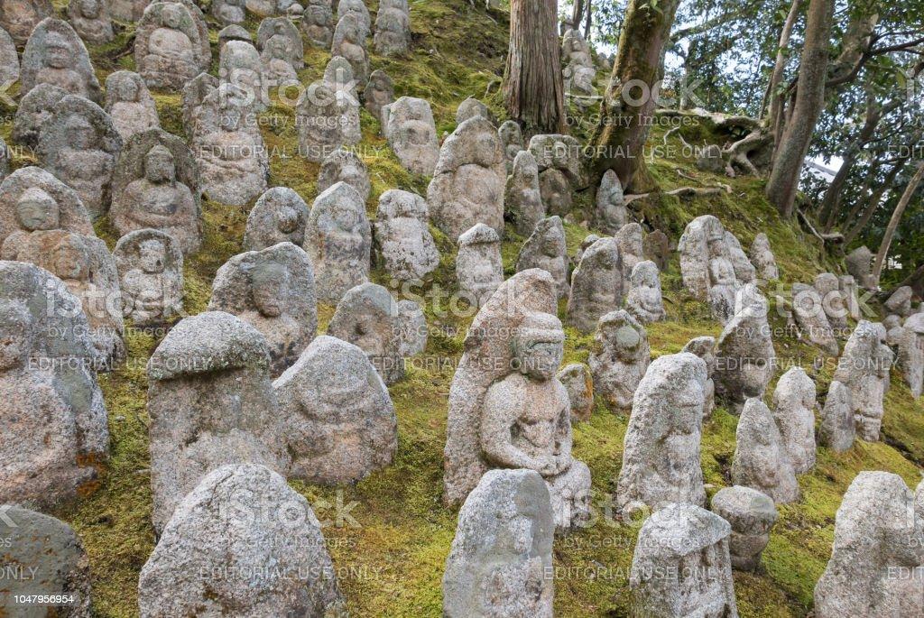 Milliers De Pierre Bouddha Jardin Temple Kiyomizudera Kyoto Japon