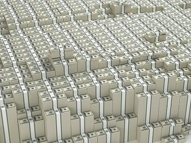 17cc007cf8 Billion Dollars stock photo. Thousands stacks of money stock photo