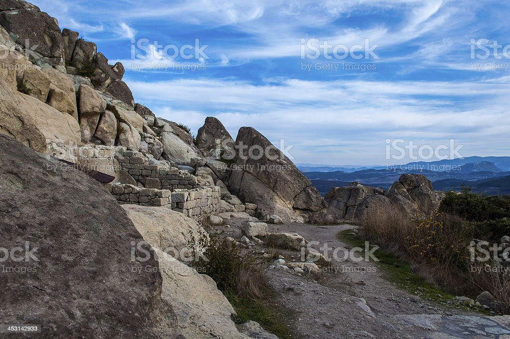 Thracian City In The Balkans royalty-free stock photo