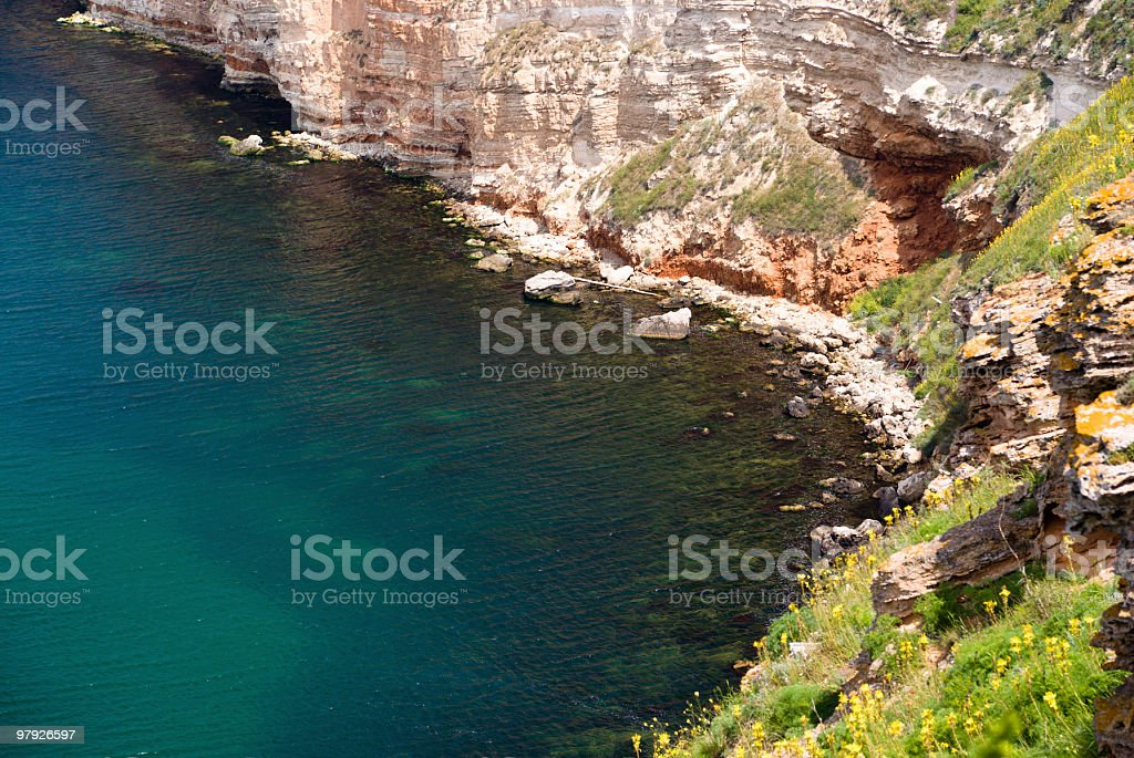 Thracian cliffs royalty-free stock photo