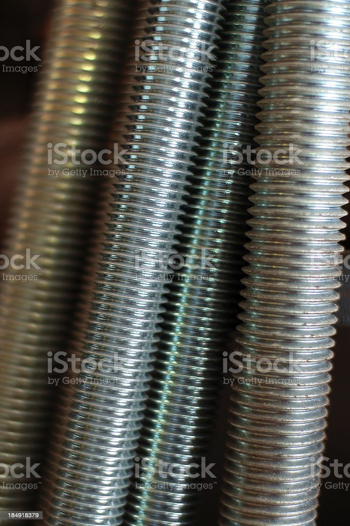 thread bars royalty-free stock photo