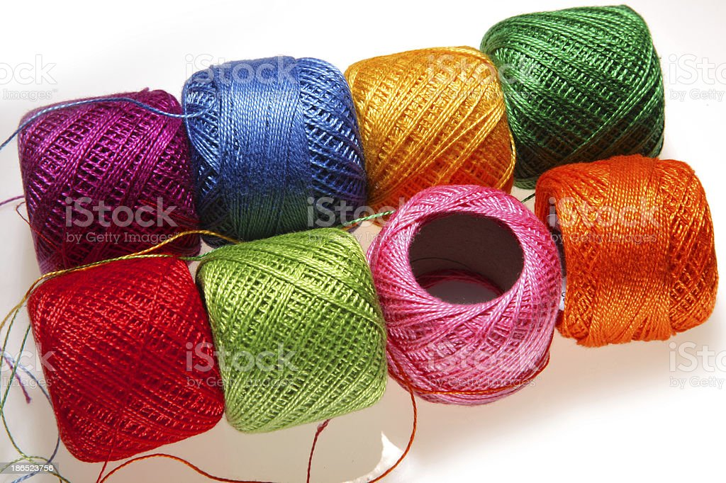 Thread for Sewing royalty-free stock photo