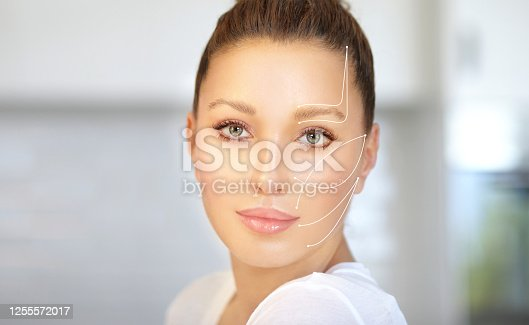 thread lift , nonsurgical procedure,lower facelift