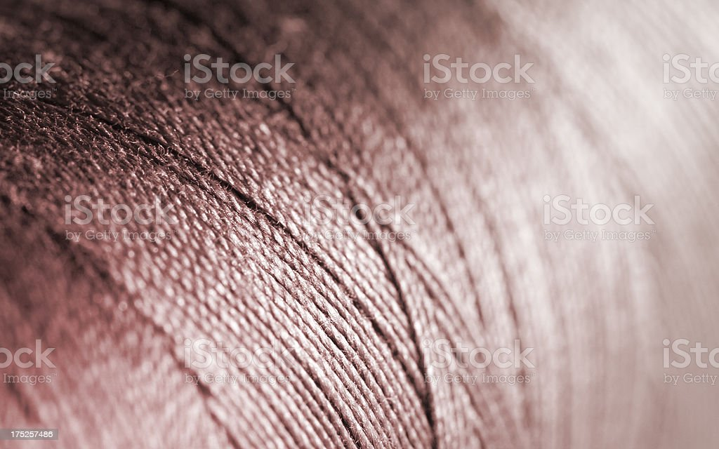 Thread Manufacturing royalty-free stock photo