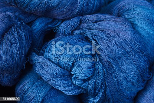 Is a thread of deep blue is a deep blue.