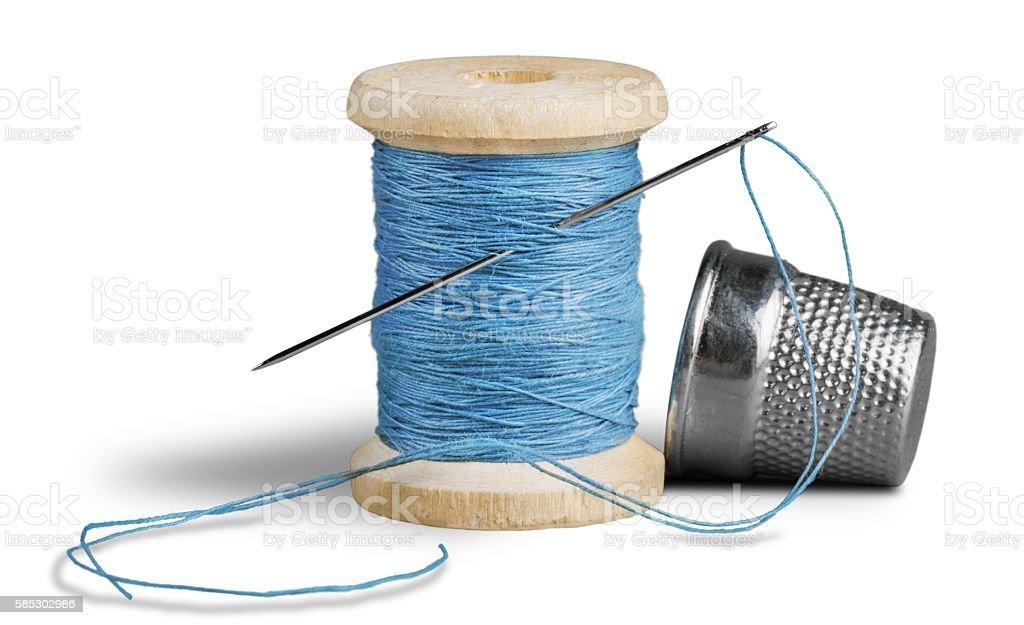 Thread stock photo