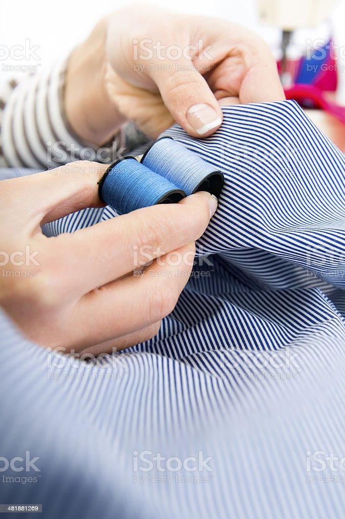 Thread reel stock photo