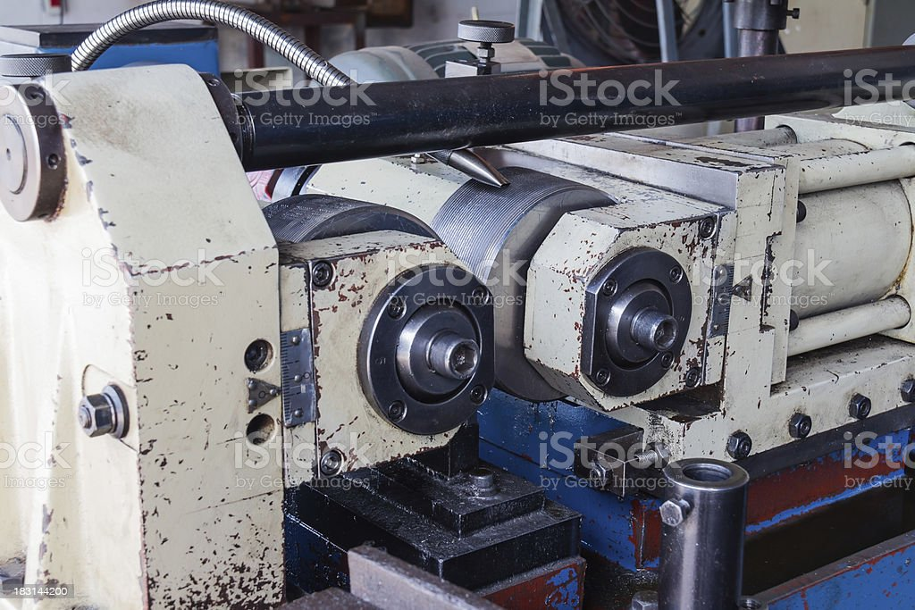 Thread Rolling Machine Stock Photo - Download Image Now