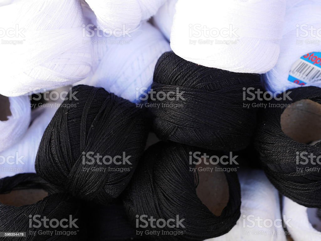 thread twine wool royalty-free stock photo