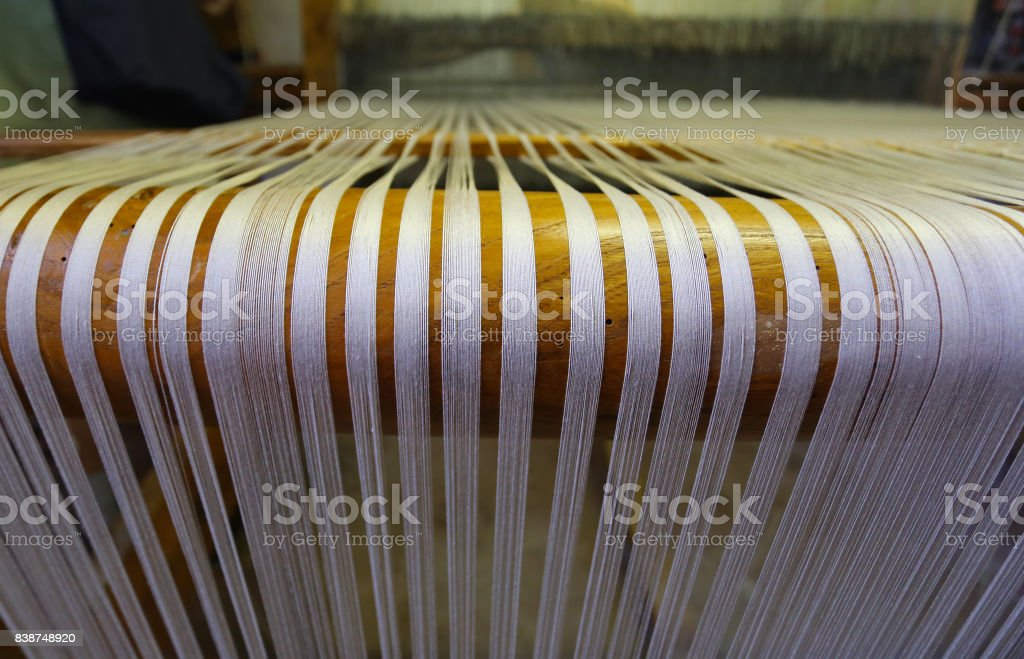 Threaded Loom stock photo