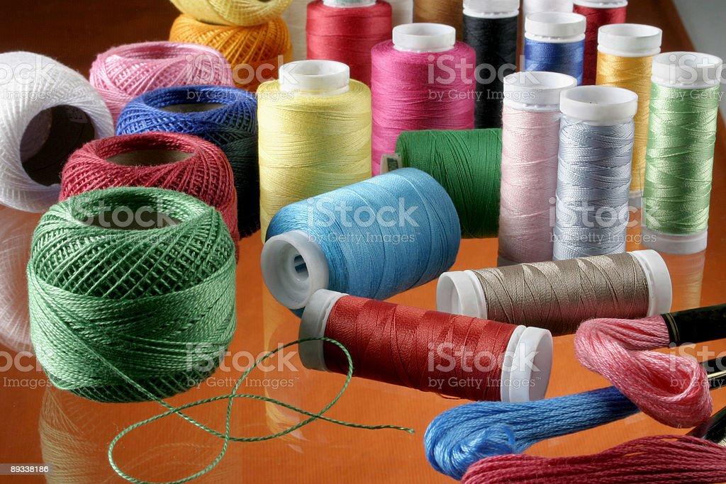 threads seam royalty-free stock photo