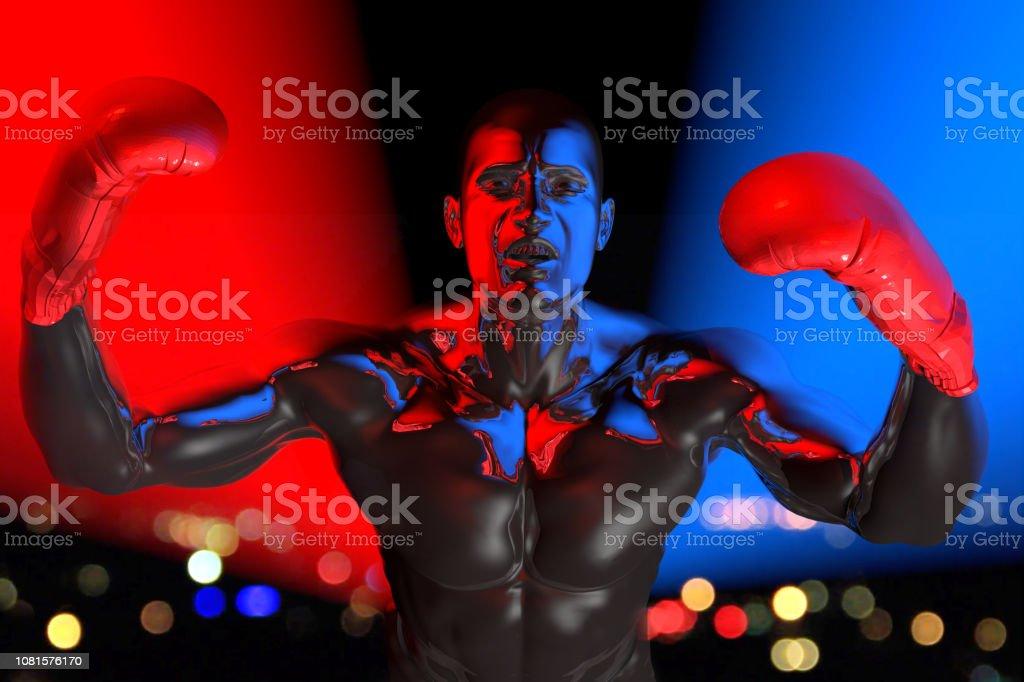 Threat of Legend Boxer stock photo