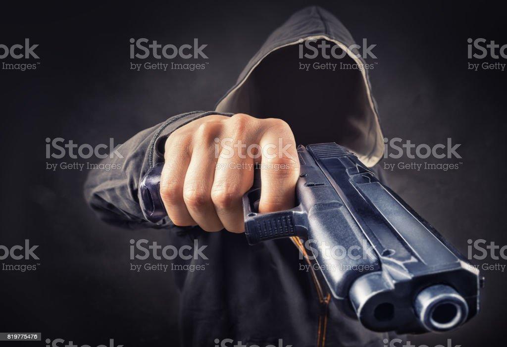 threat stock photo