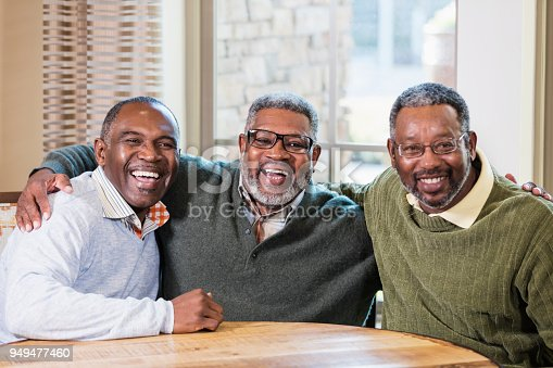 istock Three African-American men smiling at camera 949477460