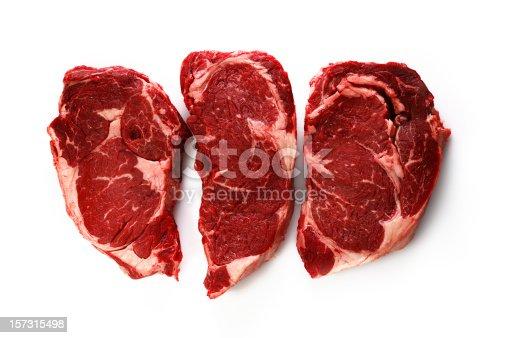 3 rib-eye steaks