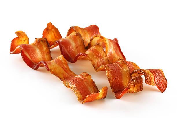 3 베이컨 slices on 인명별 - 베이컨 뉴스 사진 이미지