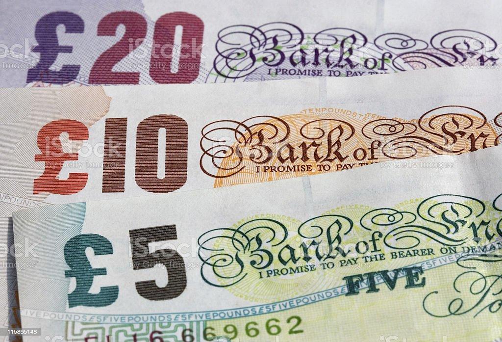 Three Banknotes stock photo