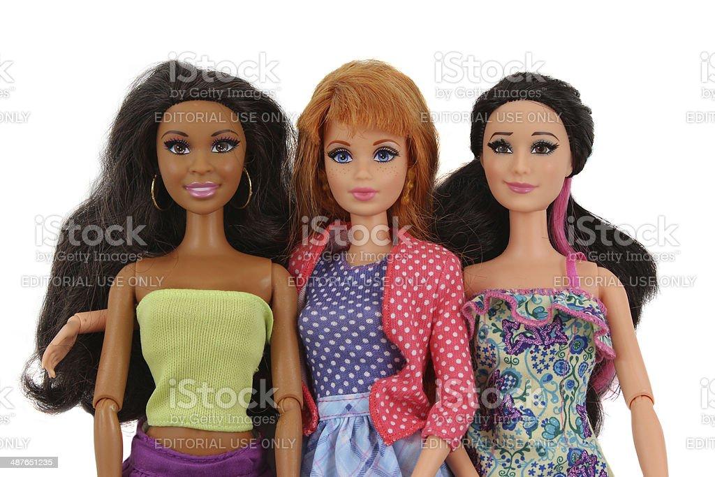 Fotografie Tre Immagini Altre Bambole Barbie E Moda Di Stock thrdCQBsx
