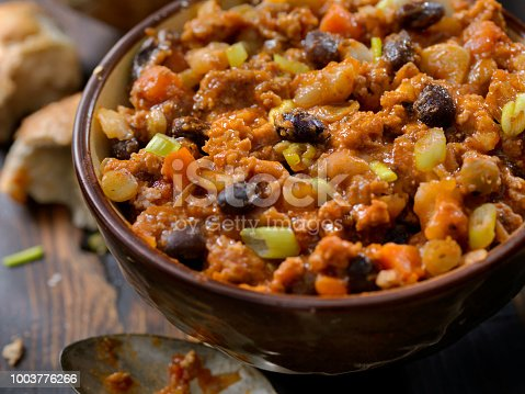 Three Bean Chili with Lentils