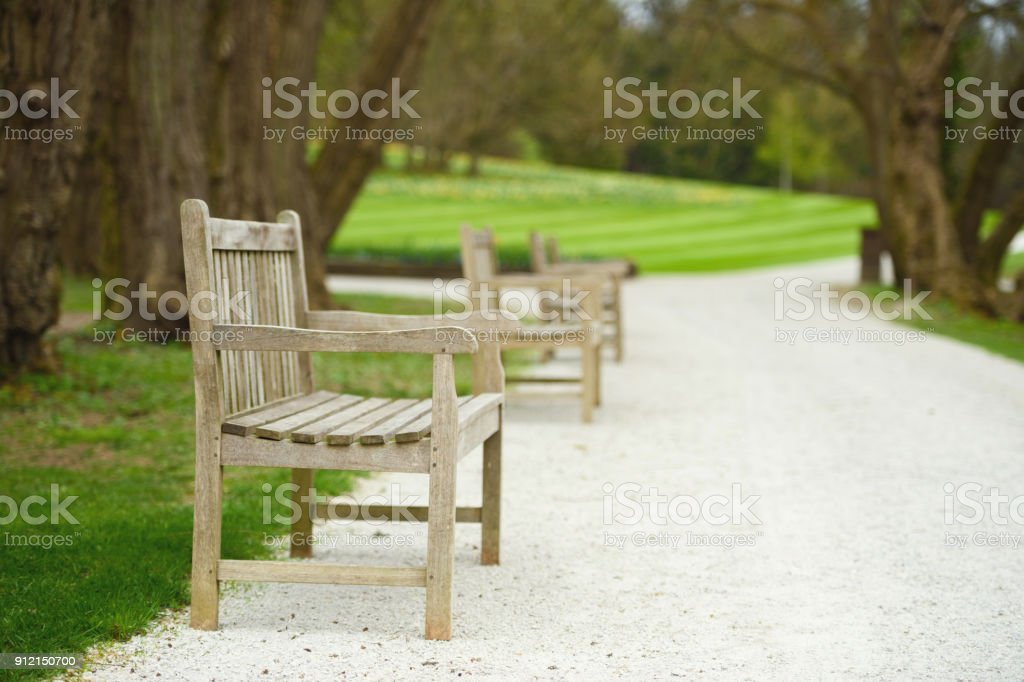 Three Benches In The Park