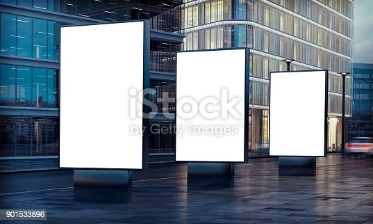 istock three billboard advertising 901533896