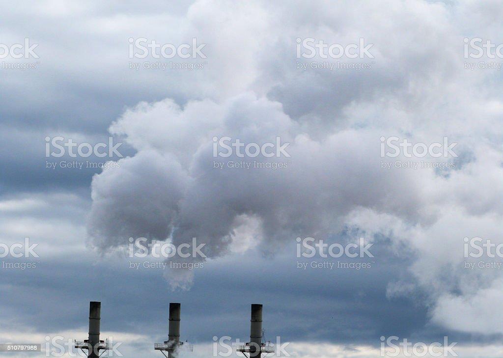 Piles trois aux montants non-fumeur - Photo