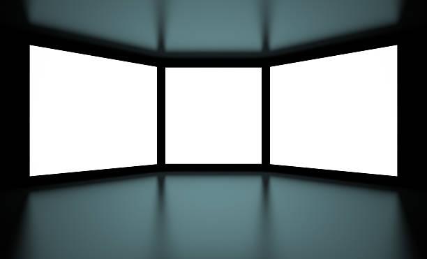 Las pantallas - foto de stock