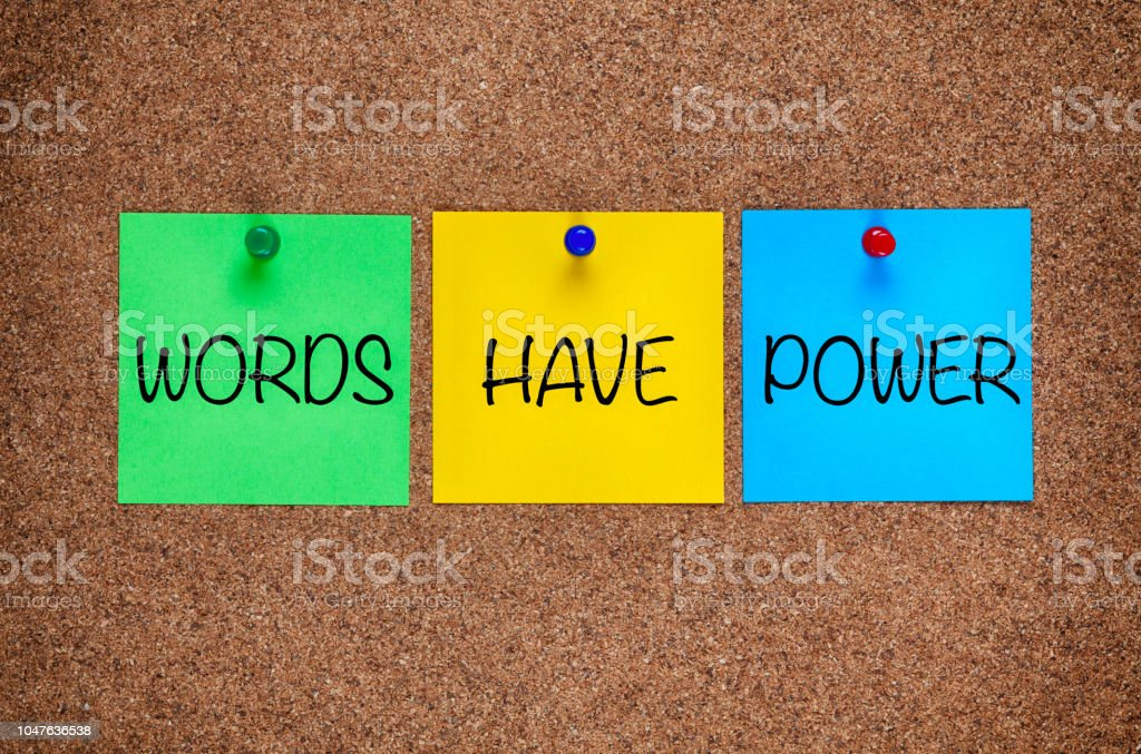 Tres Espacios En Blanco De Notas Postit Con Frase Palabras