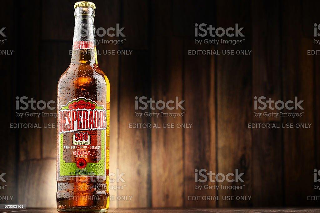 Three Bottles Of Desperados Beer Stockfoto Und Mehr Bilder Von Alkoholisches Getrank Istock