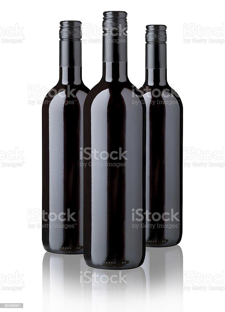 Tres frascos - foto de stock