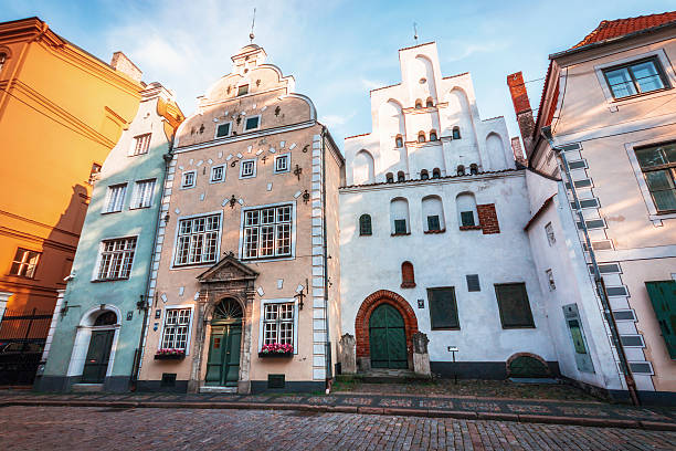 Three Brothers - Landmarks of Riga. Complex of houses, Latvia – Foto