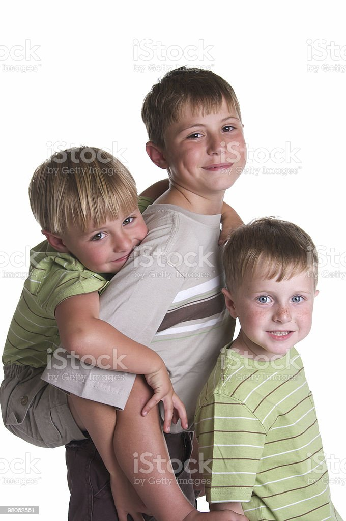 Three Brothers royalty-free stock photo