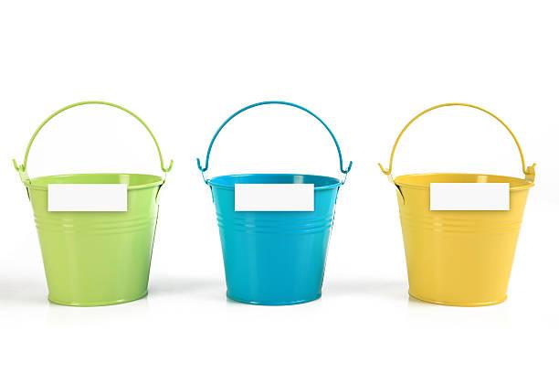 Drei-buckets – Foto